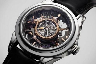 Кружево в часах - часы Скелетон... http://omega